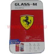 """Пленка двусторонняя """"Glass-M Ferrari"""" для iPhone 5/5S"""
