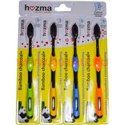 Зубные щетки бамбуковые Hozma цена за 4 шт/уп