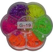 Набор резиночек Лум Бэндс (G-19) малый 300 резиночек