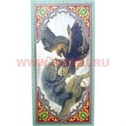 Нарды из дерева 40x20 см «Волк, Орел, Медведь» и другие рисунки