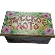 """Игра """"Русское лото"""" в деревянной коробке"""