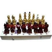 Шахматы деревянные простые 30х30 см доска