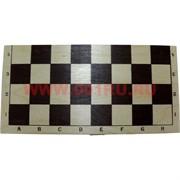 Шахматы деревяные простые 24х24 см доска