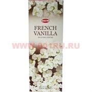 "Благовония HEM ""French Vanilla"" (Французская ваниль) 6 шт/уп, цена за уп"