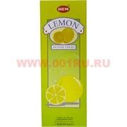 """Благовония HEM """"Lemon"""" (Лимон) 6 шт/уп, цена за уп"""