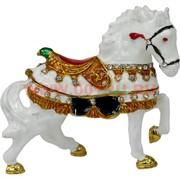 Шкатулка Лошадь со стразами (1884-002) 9 см
