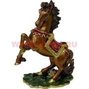 Шкатулка Лошадь со стразами (2501) 11 см