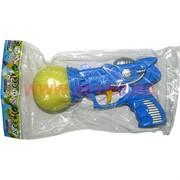 Игрушка пистолет стреляющий поролоновым шариком (192 шт/уп)