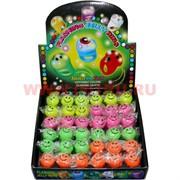 Кольца детские силиконовые светящиеся, цена за 36 штук
