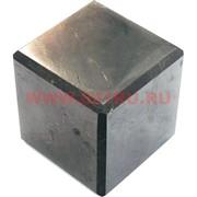Кубик полированный из натур.шунгита 4 см
