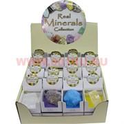 Набор натуральных минералов цена за упак. 32 шт.