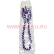 Набор:подвеска,браслет и серьги из циркона фиолетовый цвет