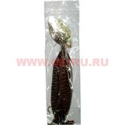 Сережки-перья длинные, цена за уп из 12 шт