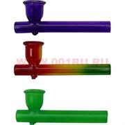 Трубка курительная стеклянная цветная 7,5 см