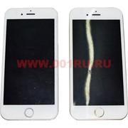 Зажигалка газовая iPhone 6 (2 цвета) в натуральную величину
