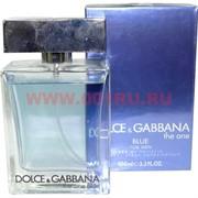 """Туалетная вода Dolce&Gabbana """"The One Blue"""" 100 мл мужская"""