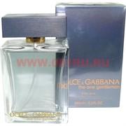 """Туалетная вода Dolce&Gabbana """"The One Gentlemen"""" 100 мл мужская"""