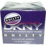 """Туалетная вода DKNY """"Guilty"""" 100 мл мужская"""