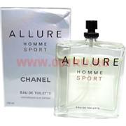 """Туалетная вода Chanel """"Allure Homme Sport"""" 150 мл мужская"""