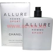 """Туалетная вода Chanel """"Allure Homme Sport"""" 100 мл мужская"""