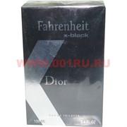 """Туалетная вода Christian Dior """"Fahrenheit x-black"""" 100 мл мужская"""