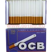 Гильзы для сигарет  с фильтром OCB 100 шт