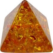 """Пирамида """"под янтарь"""" 4 см"""