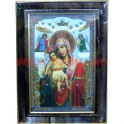 """Картина из янтаря """"Икона"""" в багетной раме 25х35"""