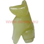 Собачка из нефрита 4,3 см