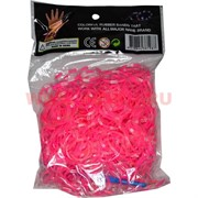 """Резинки Loom Bands """"гель толстые розовые"""" 600 шт, цена за 12 уп"""