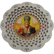 """Тарелка с иконкой """"Николай Чудотворец"""""""