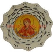 """Тарелка с иконкой """"Икона Божьей Матери"""""""