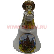 "Колокольчик ""Москва-Ангел"" размер 10*5*5"