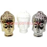 Голова Будды 1 размер (фарфор) 3 цвета цена за 1 шт