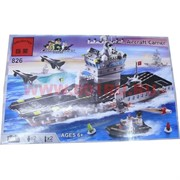 """Конструктор """"Brick"""" Aircraft Сarrier 508 деталей (826)"""