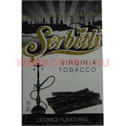 "Табак для кальяна Шербетли 50 гр ""Лакрица"" (Virginia Tobacco Serbetli Licorice)"