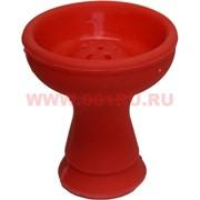 Чашка для кальяна силиконовая красная