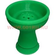 Чашка для кальяна силиконовая зеленая