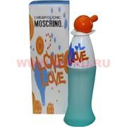 Туалетная вода Moschino «I Love Love» 100 мл женская