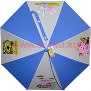 Зонт детский 8 спиц 6 цветов (PLS-3952) цена за 12 шт