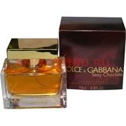 Парфюмированная вода Dolce&Gabbana «Sexy Chocolate» 75 мл женская
