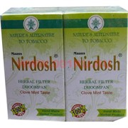 Сигареты без никотина Nirdosh Нирдош с фильтром 10 пачек/блок
