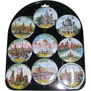 """Магнит на холодильник (М-055) 10 шт """"Москва"""" цена за 12 шт"""