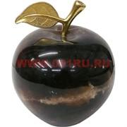 Яблоко из черного оникса 10 см (4 дюйма)