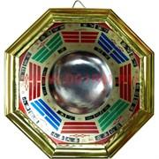 Зеркало ФэнШуй Багуа вогнутое 12,5х12,5 см