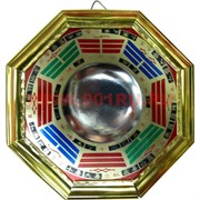 Зеркало ФэнШуй Багуа выпуклое 15,5х15,5 см