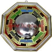 Зеркало ФэнШуй Багуа вогнутое 15,5х15,5 см