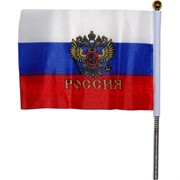 Флаг России на машину 10х15 см, 12 шт/бл, цена за 1 блок