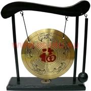 """Гонг с иероглифом """"Счастье Фу"""" 20 см"""