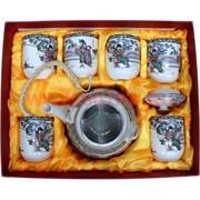 Набор посуды Чайник и 6 чашек (С)